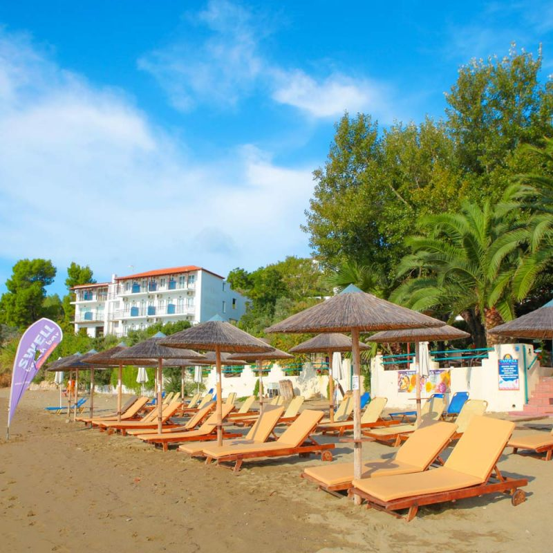Sun Beds in Megali Ammos