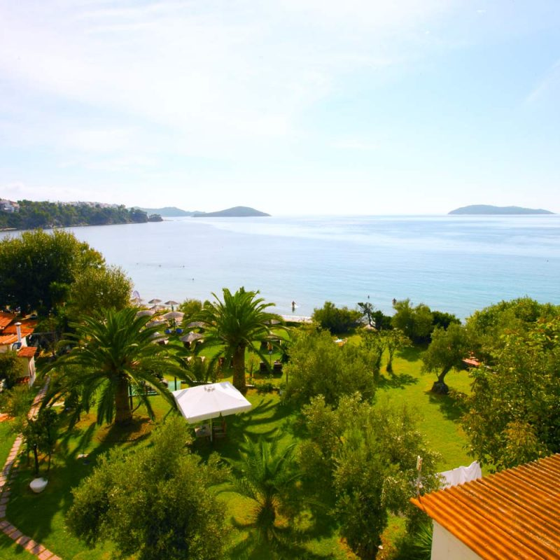 Garden and Sea View from the Top
