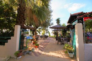 Swell Beach Bar Street Entrance - Angeliki Beach Hotel